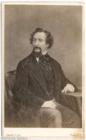 J Gurney & Son Etching of Charles Dickens