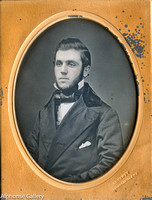 Jeremiah Gurney Daguerreotype Quarter Plate of William Hely