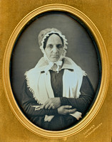 Jeremiah Gurney Copy Daguerreotype - Old Quaker Woman