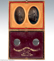 J Gurney Stereoview Daguerreotype from internet - past auction NOT AT ALPHONSE GALLERY