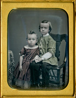 Jeremiah Gurney Daguerreotype of James and Samuel Underhill c1852