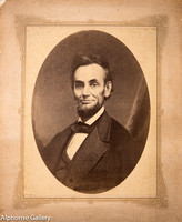 Abraham Lincoln by Gardner, published by Gurney & Son