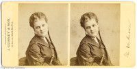 J Gurney & Son Stereoview of Marion Ward
