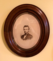 Whole Plate Abraham Lincoln by Gardner, published by J Gurney & Son
