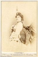 J Gurney & Son Carte Imperial of Lucille Tostee, French Soprano