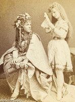 J Gurney & Son Stereoview of Samuel B Villa and his wife Agnes Wallace